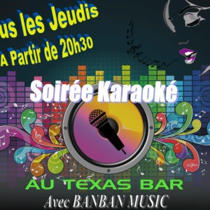 Karaoké au Texas-bar  GUERET @ Guéret | Nouvelle-Aquitaine | France